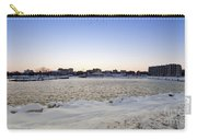 Winter Evening In Racine Carry-all Pouch