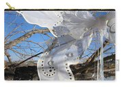 Winter Fairy Wings Carry-all Pouch