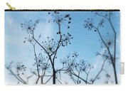 Winter Fennel Two Carry-all Pouch