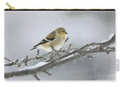 Winter Finch 2010 Carry-all Pouch