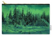 Winter Forest Dream At Dusk Carry-all Pouch