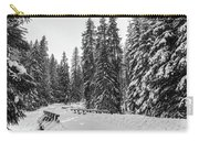 Winter Forest Journey Carry-all Pouch