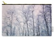 Winter Forest Carry-all Pouch by Priska Wettstein