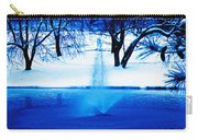 Winter Fountain 2 Carry-all Pouch