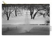 Winter Fountain Carry-all Pouch