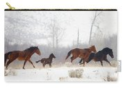 Winter Gallop Carry-all Pouch