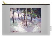 Winter Garden Plein Air Carry-all Pouch