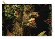 Winter Carry-all Pouch by Giuseppe Arcimboldo