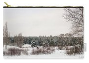 Winter Glade Under Snow. Carry-all Pouch
