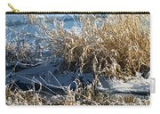Winter Grass Carry-all Pouch