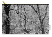 Winter, Ham Burn, Whitley Mill Carry-all Pouch
