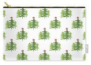 Winter Holiday Trees 2- Art By Linda Woods Carry-all Pouch