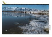 Winter Ice Flows Carry-all Pouch