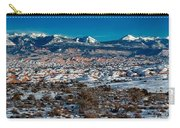 Winter In Arches National Park Carry-all Pouch