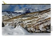 Winter In East Vail Carry-all Pouch