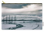 Winter In Iceland Carry-all Pouch