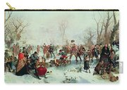 Winter In Saint James's Park Carry-all Pouch