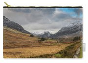 Winter In Snowdonia Carry-all Pouch