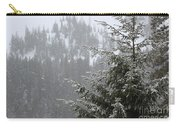 Winter In The Forest Carry-all Pouch