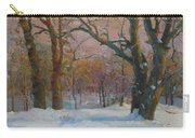 Winter In The Wood Carry-all Pouch