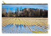 Winter In Washington Fields Carry-all Pouch