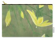 Winter Jasmine Carry-all Pouch