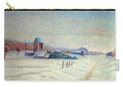 Winter Landscape 1885 Carry-all Pouch
