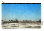 Winter Landscape 3 Carry-all Pouch by Wolfgang Schweizer