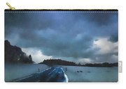 winter landscape at Dusk Carry-all Pouch