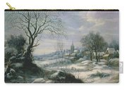 Winter Landscape Carry-all Pouch by Daniel van Heil