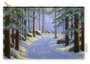 Winter Landscape Study 1 Carry-all Pouch