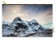 Winter Light Glencoe Carry-all Pouch