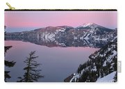 Winter Mirror At Crater Lake Carry-all Pouch