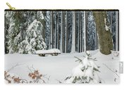 Winter Moments In Harz Mountains Carry-all Pouch