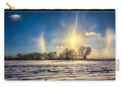Winter Morn In Minnesota Carry-all Pouch