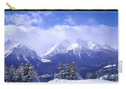 Winter Mountains Carry-all Pouch by Elena Elisseeva