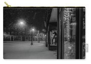 Winter Night On Main Carry-all Pouch