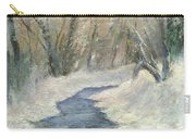 Winter On Stormcreek Carry-all Pouch