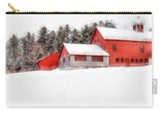 Winter On The Farm Enfield Carry-all Pouch