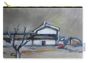 Winter On The Farm Carry-all Pouch