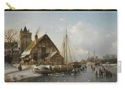 Winter On The Rhine Carry-all Pouch
