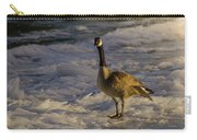 Winter On The River Carry-all Pouch