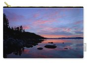 Winter Pastel Sundown Serenity Carry-all Pouch