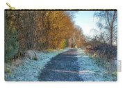 Winter Path In Scotland Carry-all Pouch