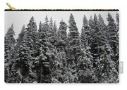 Winter Pine Spires Carry-all Pouch