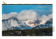 Winter Receding On Pikes Peak Carry-all Pouch