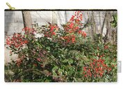 Winter Red Berries Carry-all Pouch