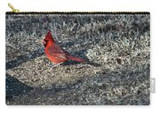 Winter Redbird Carry-all Pouch
