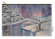 Winter Reflections Carry-all Pouch