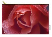 Winter Rose Two Carry-all Pouch